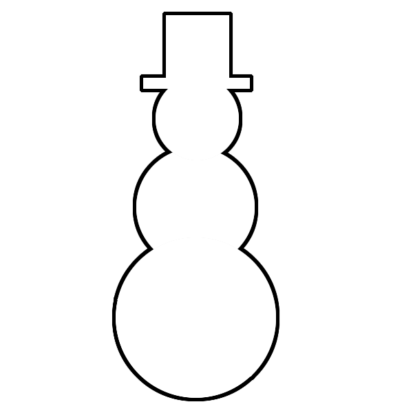 Snowman template printable search results calendar 2015 for Snowman templates free