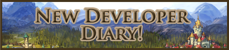 New Developer Diary