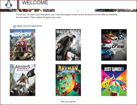 Ya disponible la web para reclamar el juego gratis del season pass de Assassin's Creed Unity 2
